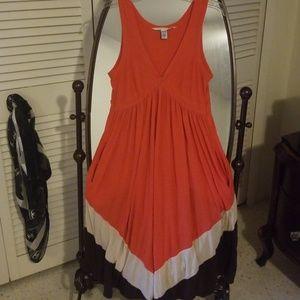 Diane von Furstenburg Silk Modal Maxi Dress Size M